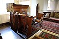 Bush End, Essex, England ~ St John Evangelist interior ~ pulpit 01.jpg