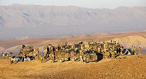 Bushmasters Afghanistan January 2010