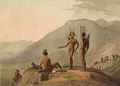 Bushmen Hottentots armed for an expedition.png