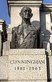 Bust of Andrew Cunningham in Trafalgar Square.jpg