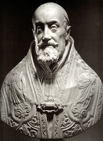 Pope Gregory XV - Gianlorenzo Bernini: a bust of Pope Gregory XV