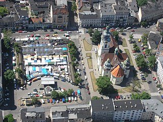 Piastowski Square in Bydgoszcz