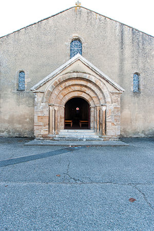 Cérilly, Allier - The church in Cérilly
