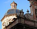 Cúpula i escultura, església de sant Felip Neri, València.JPG