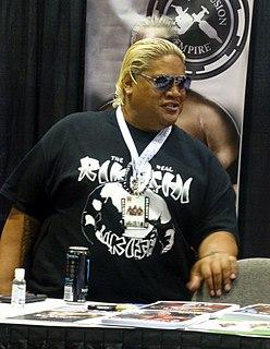 Rikishi (wrestler) American professional wrestler
