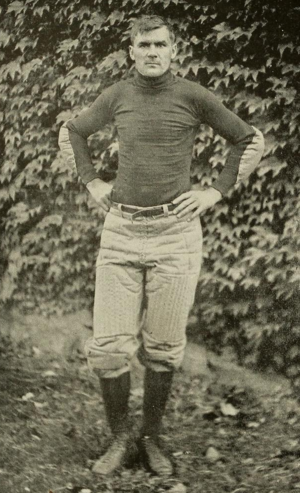 Charles Augustus Lueder - Lueder pictured in The Monticola, West Virginia yearbook