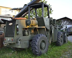 Crane Carrier Company - CCC wheel loader built for the U.S. Army