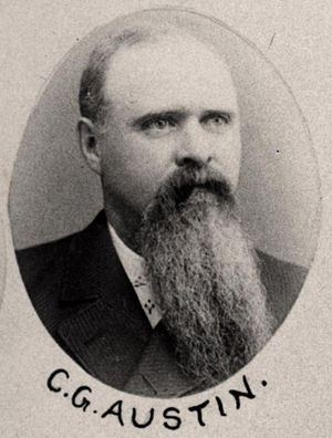 C. G. Austin - Austin in 1891