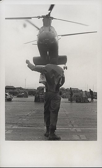 Operation Meade River - Image: CH 46 Transport Helicopter, 1968 (14994498289)