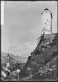 CH-NB - Sargans, Schloss, Turm, vue partielle extérieure - Collection Max van Berchem - EAD-7000.tif