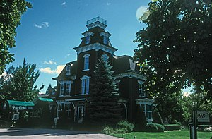 National Register of Historic Places listings in Huron County, Michigan - Image: CHARLES G. LEARNED HOUSE