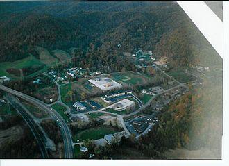 Clay Local School District - Clay Junior-Senior High School (aerial view, fall of 2003)