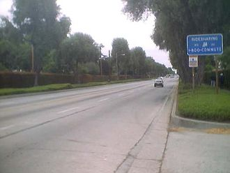 Fred C. Nelles Youth Correctional Facility -  Picturesque Whittier Boulevard, near Fred C. Nelles Youth Correctional Facility