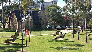 Darlington, New South Wales - Old Darlington school is now the centrepiece of Sydney University's Cadigal Green