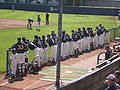 Cal baseball team at Oregon at Cal 4-18-09 1.JPG