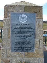 Cameronians Memorial plaque