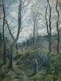 13 / Landschaft mit großen Bäumen