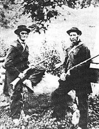Fenian raids - Canadian Home-Guard defending against Fenians in 1870