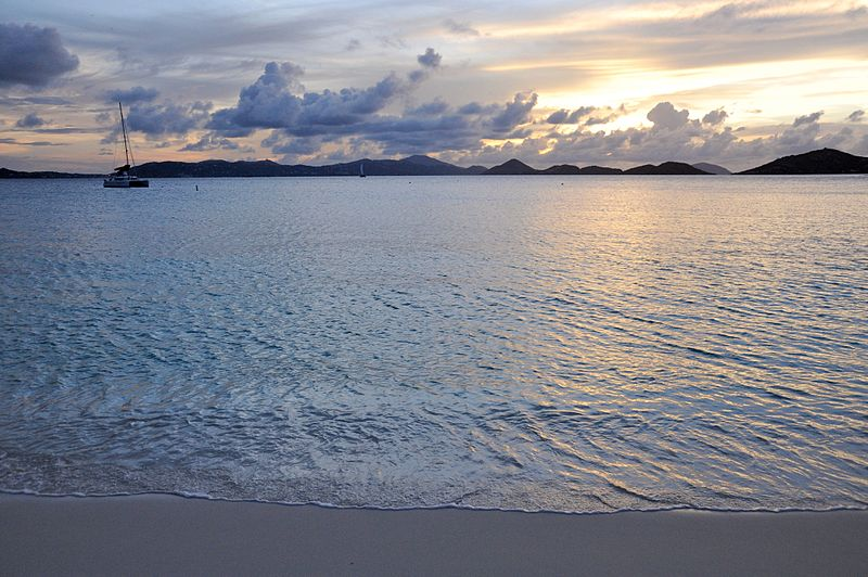 File:Caneel Bay Sunset at Scott Beach 2.jpg