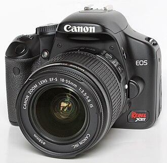 Canon EOS 450D - Image: Canon EOS 450D Xsi