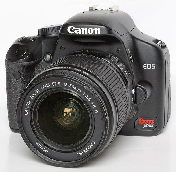 File:Canon EOS 450D Xsi.JPG
