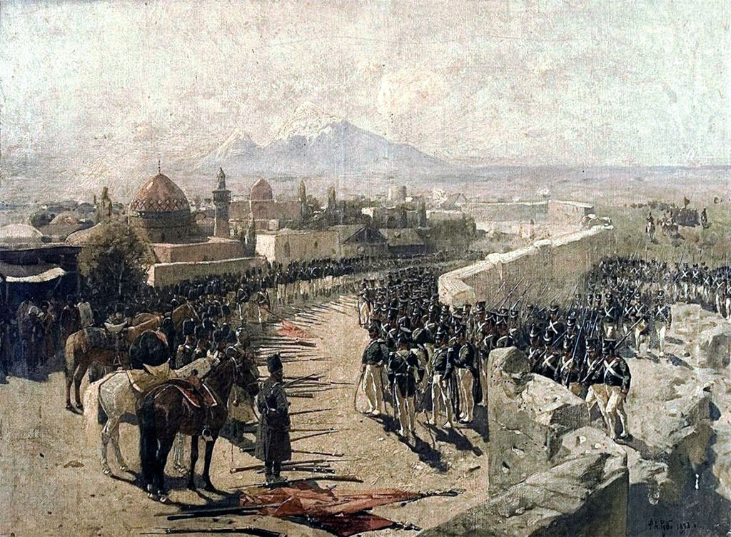 File capture of erivan fortress by russia 1827 by franz for Image capture
