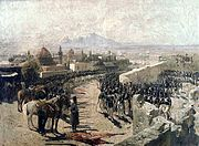 Capture of Erivan Fortress by Russia, 1827 (by Franz Roubaud)