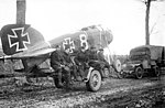 Captured German aeroplane (3011973171).jpg