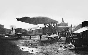Captured Junkers J.I in Germany 1919.jpg