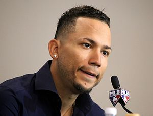 Carlos Gonzalez answers a question during the T-Mobile -HRDerby press conference. (27882193724).jpg