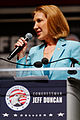 Carly Fiorina at Citizens United Peace Summit Greenville South Carolina May 2015 by Michael Vadon 02.jpg