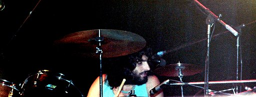 Carmine Appice with Beck Bogert and Appice