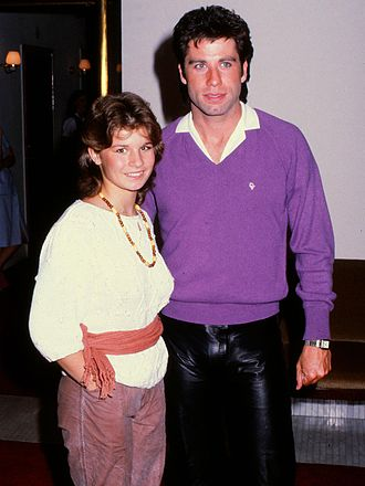 Carola Häggkvist - Carola and John Travolta in 1983