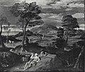Carracci - Paesaggio con riposo nella fuga in Egitto, Collezione T.G. Winter.jpg