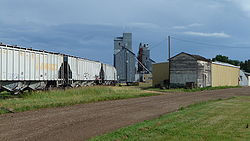 Grain Elevator in Carrington