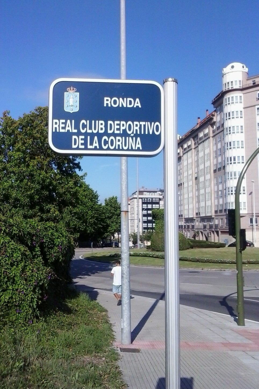 Ronda do Real Club Deportivo de La Coruña.