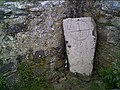 Carved Stone in the old St. Nons Chapel - geograph.org.uk - 12505.jpg