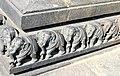 Carvings on the basement Channakeshava temple, Belur(2).jpg
