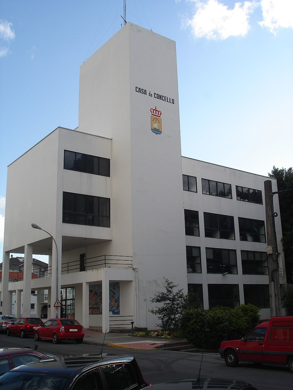 Casa do concello de Fene