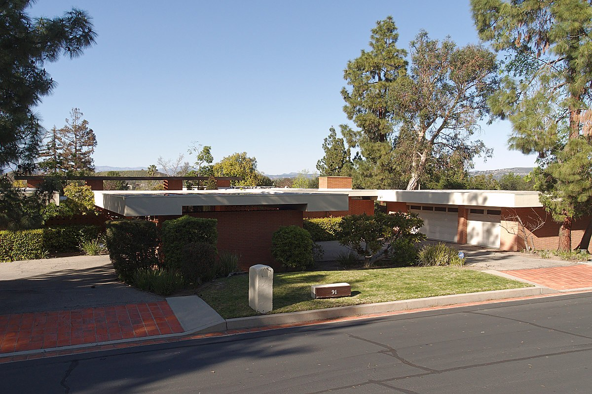 Bailey House (Case Study House #21) | Los Angeles Conservancy