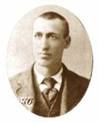 """Casey Jones - Portrait of the """"brave engineer"""": John Luther """"Casey"""" Jones, 1863–1900"""
