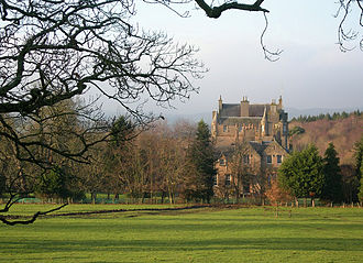 Clan Kennedy - Cassillis House, Scottish Lowlands. Seat of the Chiefs of Clan Kennedy. Photo by Mary and Angus Hogg