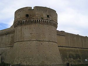 Crotone - The Castle of Charles V.