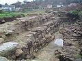 Castelo da rocha forte Cimentos muro noroeste.JPG