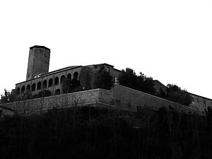 Museum of the Prehistory of Tuscia and of the Rocca Farnese - Rocca Farnese, seat of the Museum.