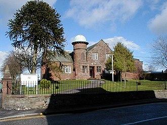 Castle Douglas - Castle Douglas, The Library, built 1904.