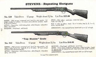 Stevens Model 520/620 - Stevens Catalog No. 53 (1911)