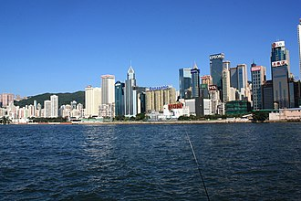Wan Chai District - Day view of Causeway Bay in the Wan Chai District