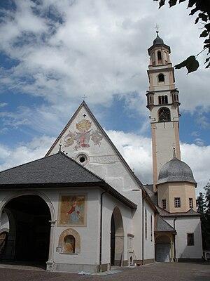 Cavalese - Image: Cavalese Chiesa Santa Maria Assunta