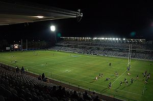 Central Coast Stadium - Bluetongue Central Coast Stadium at night